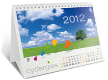 Exemple de calendrier de table
