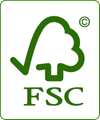 Label FSC (Forest Stewardship  Council)